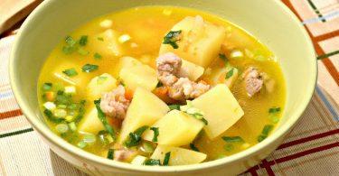 Сколько варить картошку в супе после закипания?