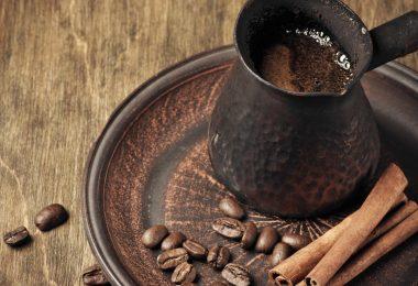 Сколько варить кофе в турке на плите?