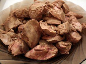 Сколько готовить куриную печень на плите?