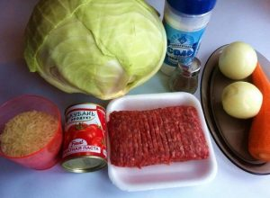 Начинаем традиционно с подготовки всех необходимых продуктов