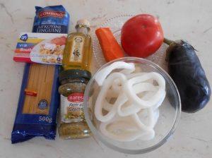 подготовки необходимых для приготовления пасты продуктов