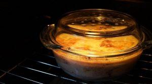 Запекать блюдо будем в течение 2 часов