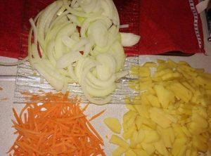 Морковь можно нарезать кружочками