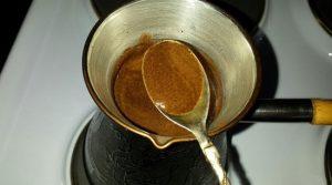 Варим кофе в течение 5-6 минут
