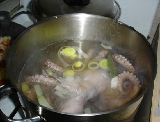 Точное время отваривания осьминога