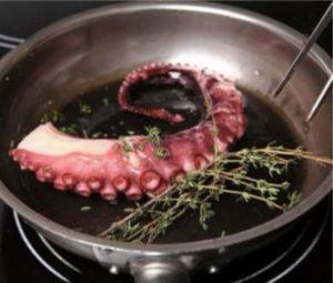 сколько варить щупальца осьминога