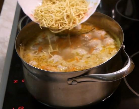 Время приготовления спагетти