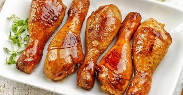Сколько запекать куриные ножки в духовке по времени?