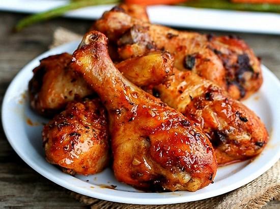 Сколько по времени жарить курицу