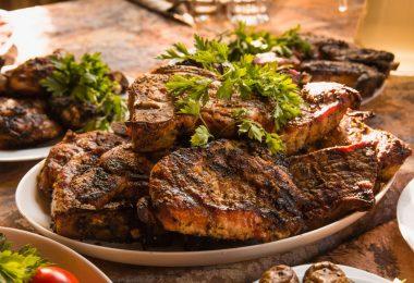 Сколько жарить мясо на сковороде по времени?