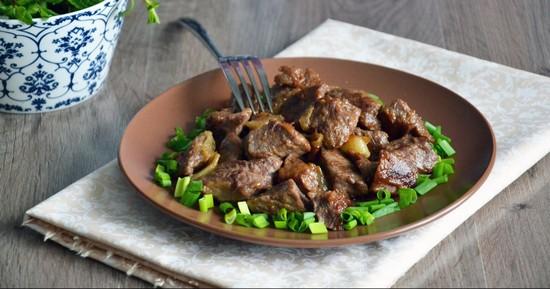 Сколько по времени жарить мясо на сковороде