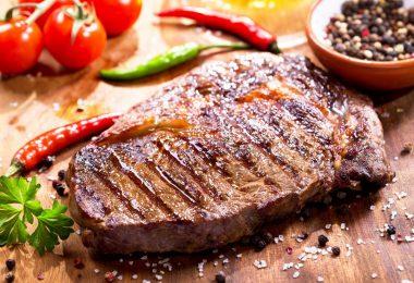 Сколько жарить стейк из свинины (на сковороде, гриле)?