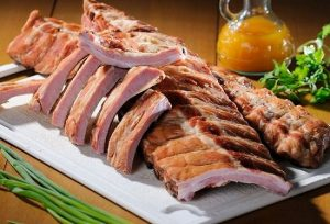 варить копченые свиные ребра
